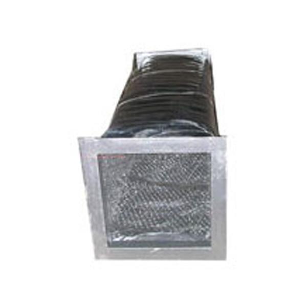 双面铝箔复合玻纤布消音软管